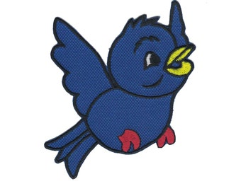 Bluebird Iron On Applique Bluebird Patch