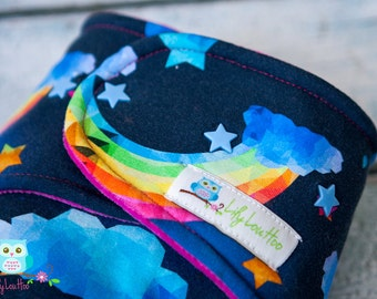 Custom Bliss Rainbow Cloth Diaper