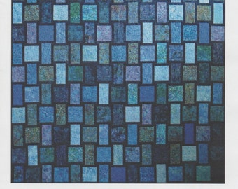 Blue Moon Quilt Pattern, Designs by jb, DIY Quilting, Sewing