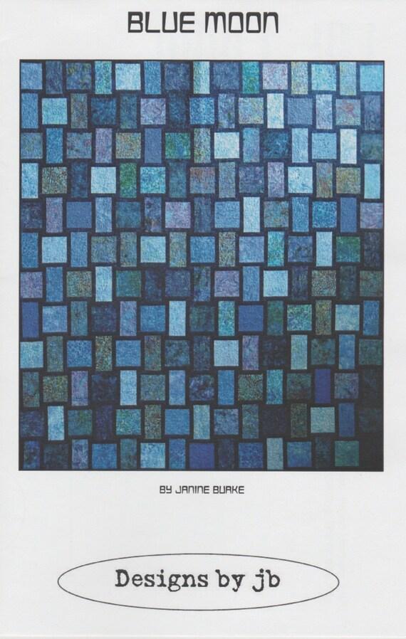Blue Moon Quilt Pattern Designs by jb DIY Quilting Sewing : jb quilting - Adamdwight.com