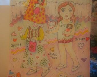Alyssa Paper doll