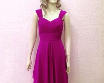 Light Purple Dress . Bridesmaid Dress. Evening Dress.