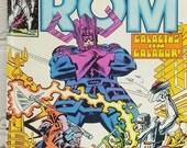 ON SALE ROM Comic Book. Volume 1. Number 26. January 1982. Cool Villains That Wear Purple.  Marvel Comics Group. Super-Villain Classics.