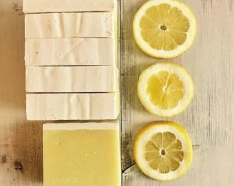 Lemon Peel Natural Vegan Gourmet Soap