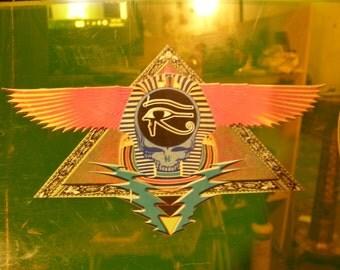 "Grateful dead  ,""EGYPT 78' ""sticker"