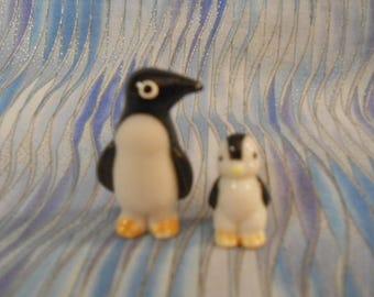 Miniature Bone China Penguins