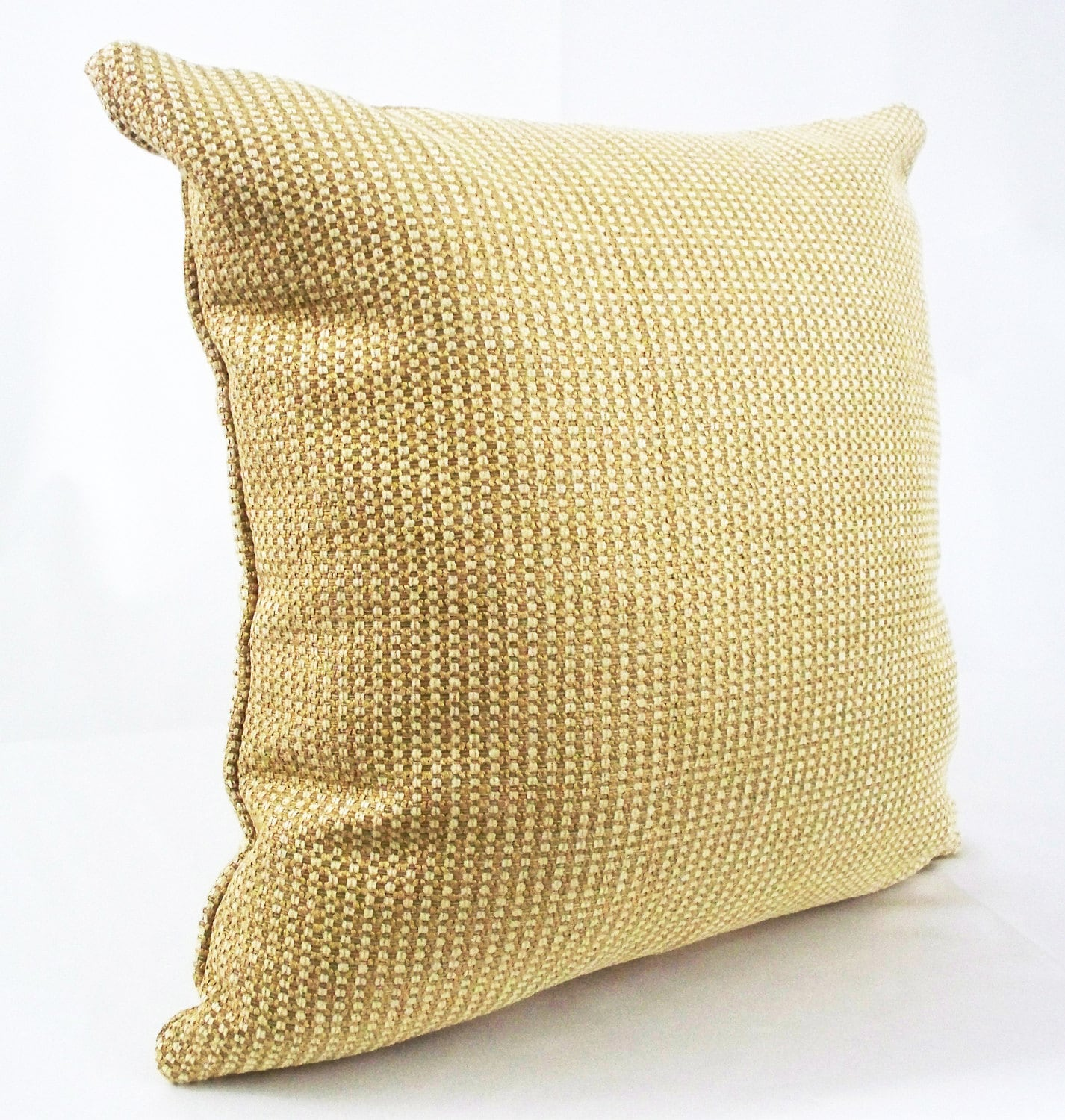 Pale Yellow Throw Pillow Cover : Gold pillow Yellow pillow cover Pale gold cushions Pale