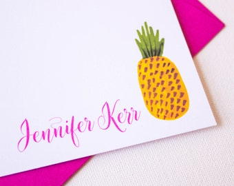 Pineapple Stationery | Pineapple Stationary | Housewarming Present | Housewarming Gift | New Home Gift