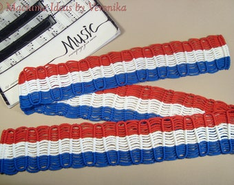 Nelson's Guitar Strap, macrame, Made to Order