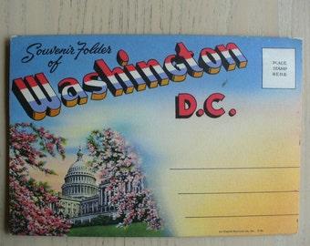 Washington, D.C. Postcard Folder