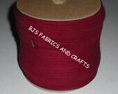 "BURGUNDY Extra Wide Double Fold 1/2"" Bias Tape Wholesale 50 yards"