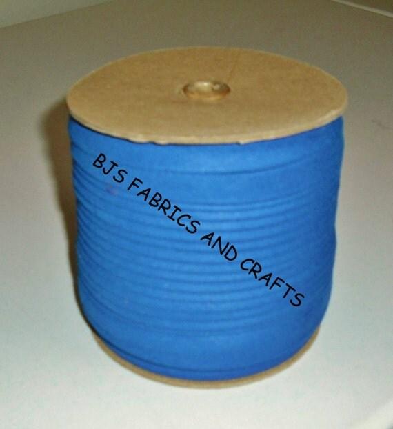 EXTRA WIDE Bias Tape 1/2 Royal BLUE Bulk Quantity