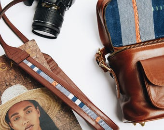The Weekender Brandy | Leather Camera Bag, Photography Bag,  Womens Camera Bag, Leather Camera Bag, dslr camera bag, Travel Bag,