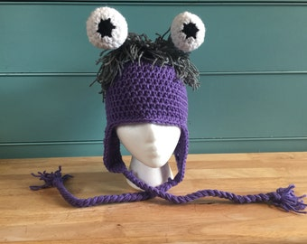 Monsters Inc. Inspired Boo Beanie
