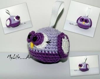 MyLife....Ami Mini Owl Keyring