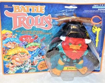 1992 Hasbro The Original Battle Trolls Trollaf Figurine/ Action Figurines/T D Trolls