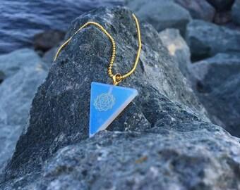 Opal Heart Chakra Necklace