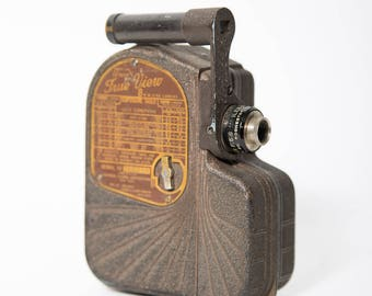 Univex True View 8mm Cine Camera 1939 Model B-8 Universal Camera Corp USA