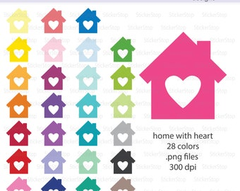New Home Clipart Etsy - New home clipart