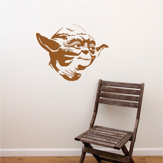 Like this item? & Yoda Decal Sticker Star Wars Yoda Wall Decal Star Wars Wall