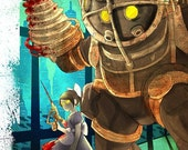 25% OFF WOW Bioshock Big Daddy Poster