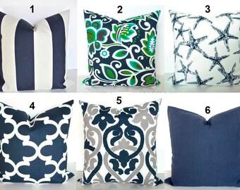 Royal Blue Outdoor Throw Pillows : Royal BLUE PILLOWS Blue Outdoor Pillow Covers Turquoise