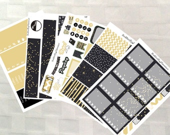 Celebration Planner Sticker Kit, Vinyl stickers, Party, Birthday, Happy Planner Sized