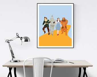 Wizard of Oz Minimalist Movie Poster