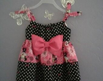 Minnie Mouse Birthday Dressy Classy Dress