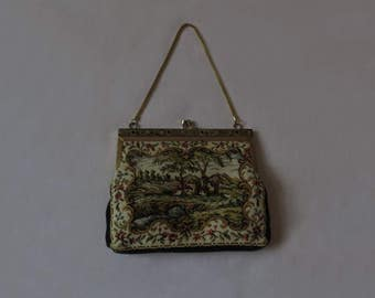 Tapestry Style Evening Bag