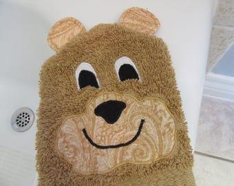 Bear Bath Mitt Puppet