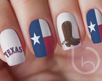 Texas Flag Sticker Etsy