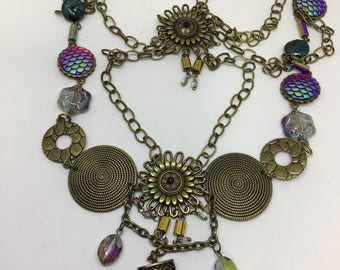 Medieval and Victorian style necklace.