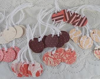 50 Flea Market merchandise tags