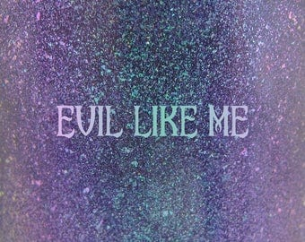 """Evil Like Me shimmer nail polish 15 mL (.5 oz) from the """"Mistress of All Evil"""" Collection"""