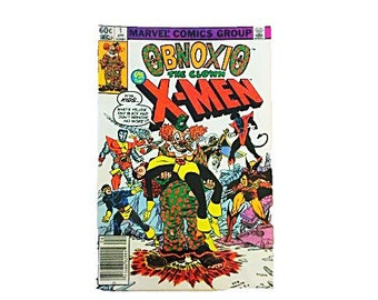 1st Issue Obnoxio the Clown vs. The X-Men Vintage Marvel Comics Group Book, Dark Age, First Issue