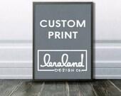 Custom Order J. Jackson