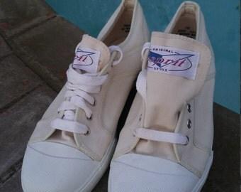 Original Esprit Style Canvas Sneaker NOS 80's