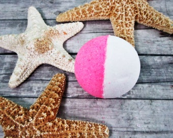 Summer Fling Bath Bomb - Bath Fizzy - Bath Fizzer - Bath Fizzie - Bath Bomb - Bath Fizzies - Bath Fizz Bombs - Bubble Bath Bomb - Pink