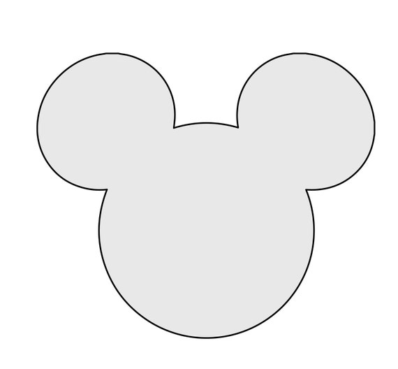 5 h string art mickey mouse pattern template. Black Bedroom Furniture Sets. Home Design Ideas