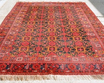 Large Antique Beshir Turkoman Rug — 11 ft. by 9 ft.
