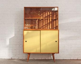 Paul McCobb Sideboard Hutch Bookcase