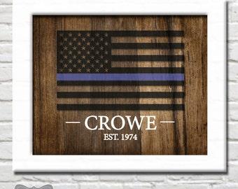 Police Officer Gifts, Police Officer Retirement Gift, Police Officer Wife, Police Officer Decor, Police Officer Sign, Officer Digital File