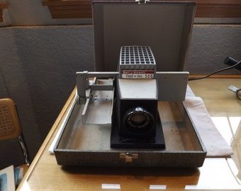 Bell Howell Project or View 500 Projector in Case