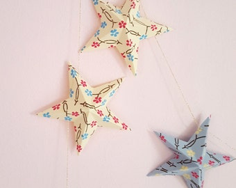 "The paper garland ""The 12 magic stars"""