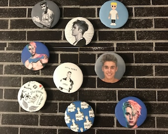 Justin Bieber | Button/Pinback/Badge