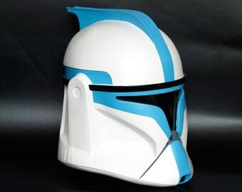Star Wars Clone Trooper Phase I Lieutenant Helmet - Made to order -
