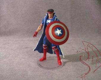 "Custom Action Figure - Major Victory 3 3/4"""