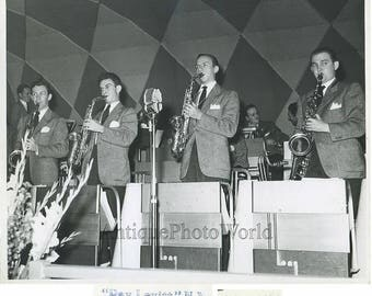 Johnny Long and his jazz orchestra antique photo