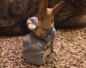 Vintage Beatrix Potter Cottontail Frederick warne 1985 Beswick England